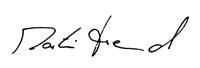 Unterschrift Martin Freund
